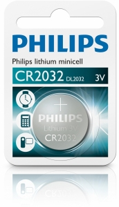 BATERIA PHILIPS CR2032 3V LITOWA