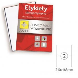 ETYKIETA SAMOPRZYLEPNA A4 (ML) 210x148 /2/A4/