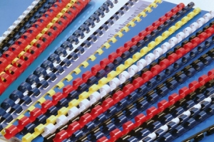 GRZBIETY PLASTIKOWE 16 130K ZIELONE - 1SZT