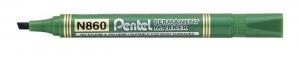 MARKER PERMANENTNY PENTEL N860 ŚCIĘTY ZIELONY