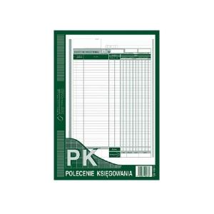 DRUK PK POLECENIE KSIĘGOWANIA A4 439-1