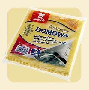 ŚCIERKA DOMOWA KUCHCIK /3 SZTUKI/