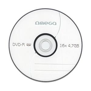 DYSK DVD+R OMEGA-4,7GB-  10SZT