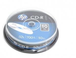 PŁYTA CD-R HP 700MB /10SZT/