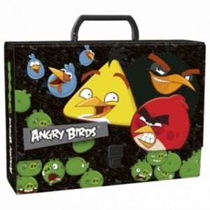 TECZKA Z RĄCZKĄ A4 ANGRY BIRDS