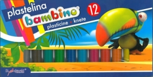 PLASTELINA BAMBINO 12 KOL