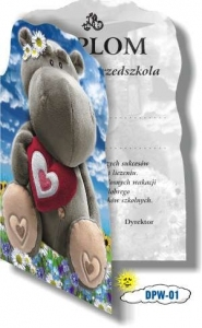 DYPLOM PRZEDSZKOLNY SKŁADANY A4 WARTA 314-010
