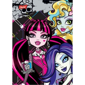 WKŁAD DO SEGREGATORA A6/20/ MONSTER HIGH