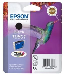 TUSZ EPSON 801 T0801 (C13T08014010) CZARNY