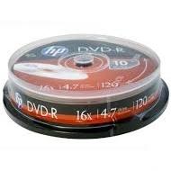 PŁYTA DVD-R HP 4.7GB /10SZT/