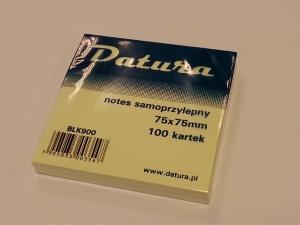 NOTES SAMOPRZYLEPNY DATURA 75x75 /100/