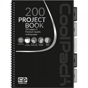 KOŁOZESZYT PROJECT BOOK A4 100K # COOLPACK
