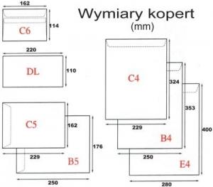 KOPERTA B5 HK BRĄZOWA (500)
