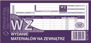 DRUK WYDANIE MATERIAŁÓW NA ZEWNĄTRZ 1/3 A4 351-8