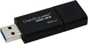 PAMIĘĆ USB 16GB (DT100G3/16GB)  KINGSTON