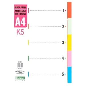 PRZEKŁADKI K5 1-5 D.RECT