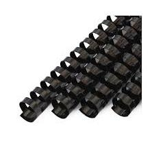 GRZBIETY PLASTIKOWE 16 130K CZARNE - 1SZT DATURA