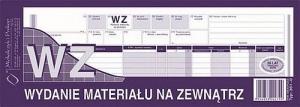 DRUK WZ WYDANIE MATERIAŁÓW NA ZEW.1/2 A4  361-0