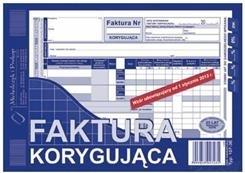 DRUK FAKTURA VAT A5 KORYGUJĄCA  107-3E